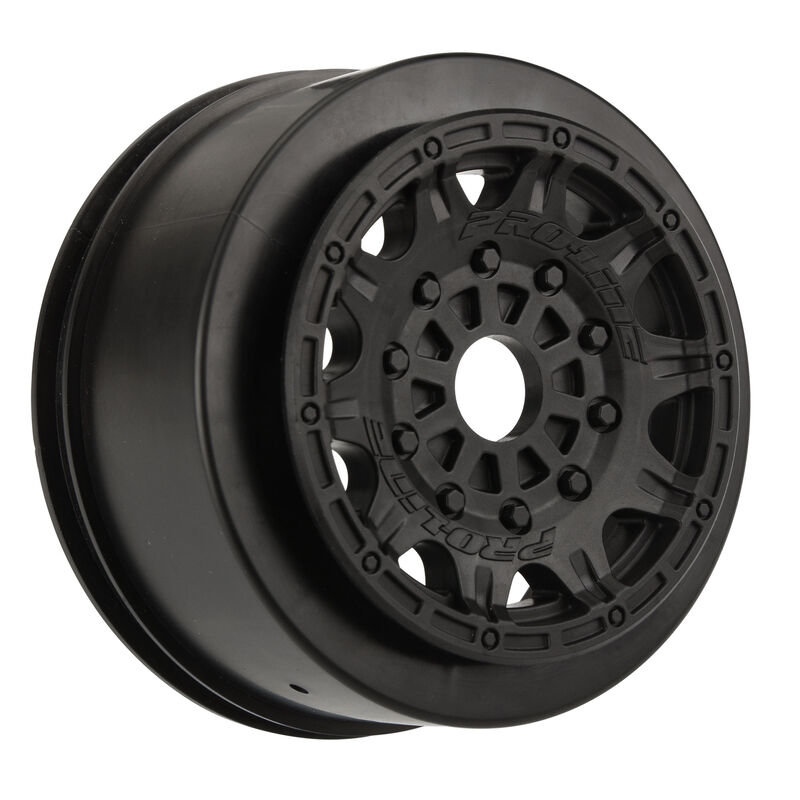 "Raid 2.2"" 3.0"" Black Wheels for SC with 17mm Hex"