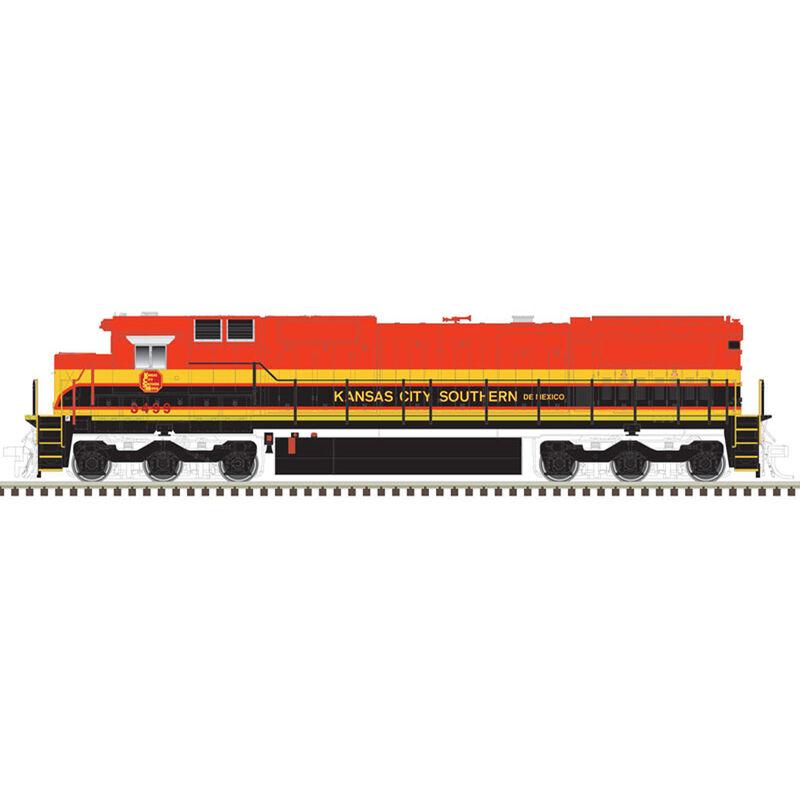 HO Dash 8-40C KCS #3493