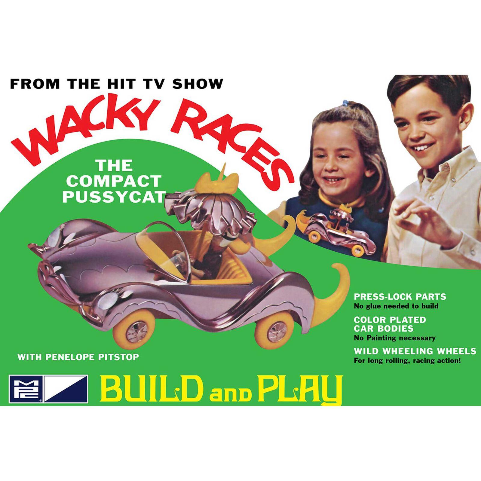 1/32 Wacky Races Compact Pussycat SNAP
