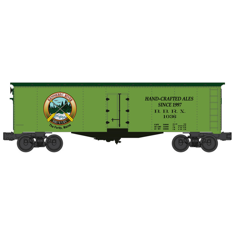 O Williams 40' Reefer Kennebec Brewing