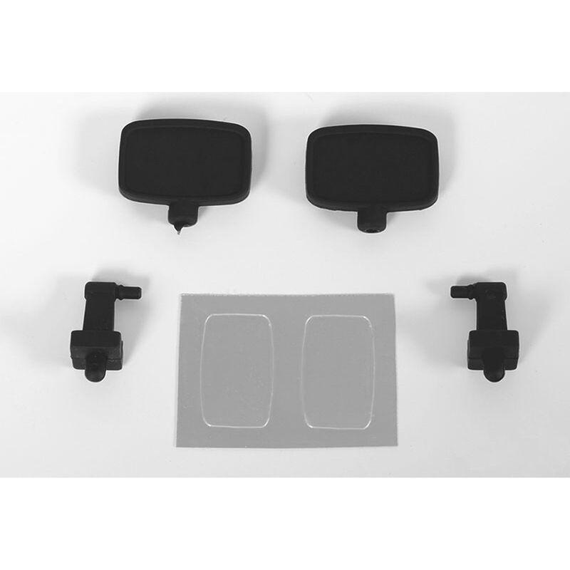 Super Scale 1/10 Rubber Mirror (Style B)