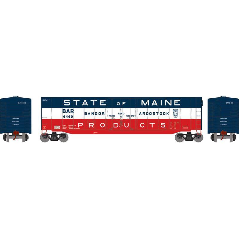 HO 50' Plug Door Smooth Side Box, BAR #6460