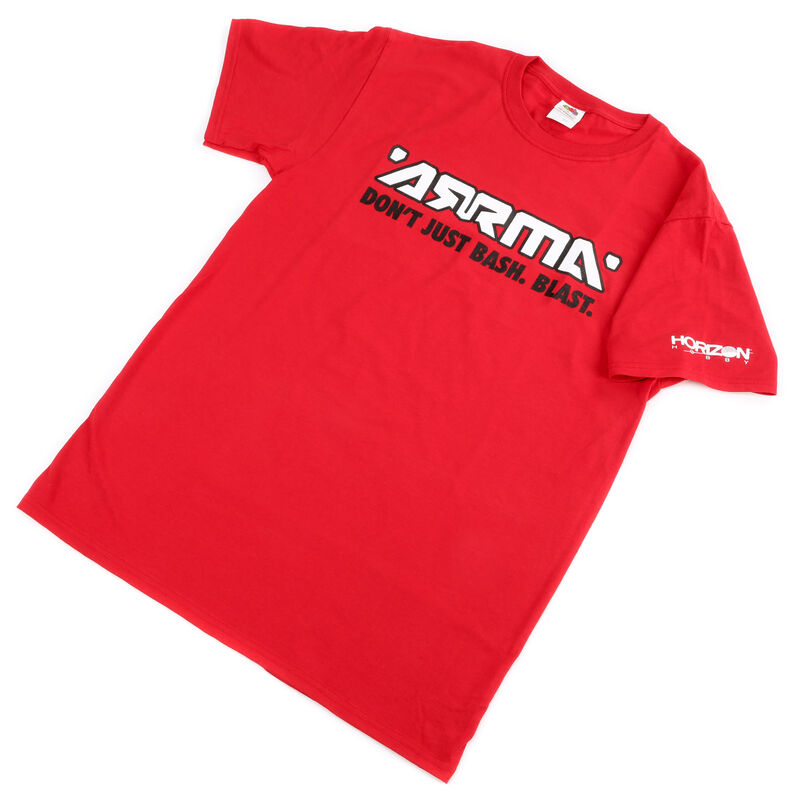 Red Bash/Blast T-Shirt, X-Large