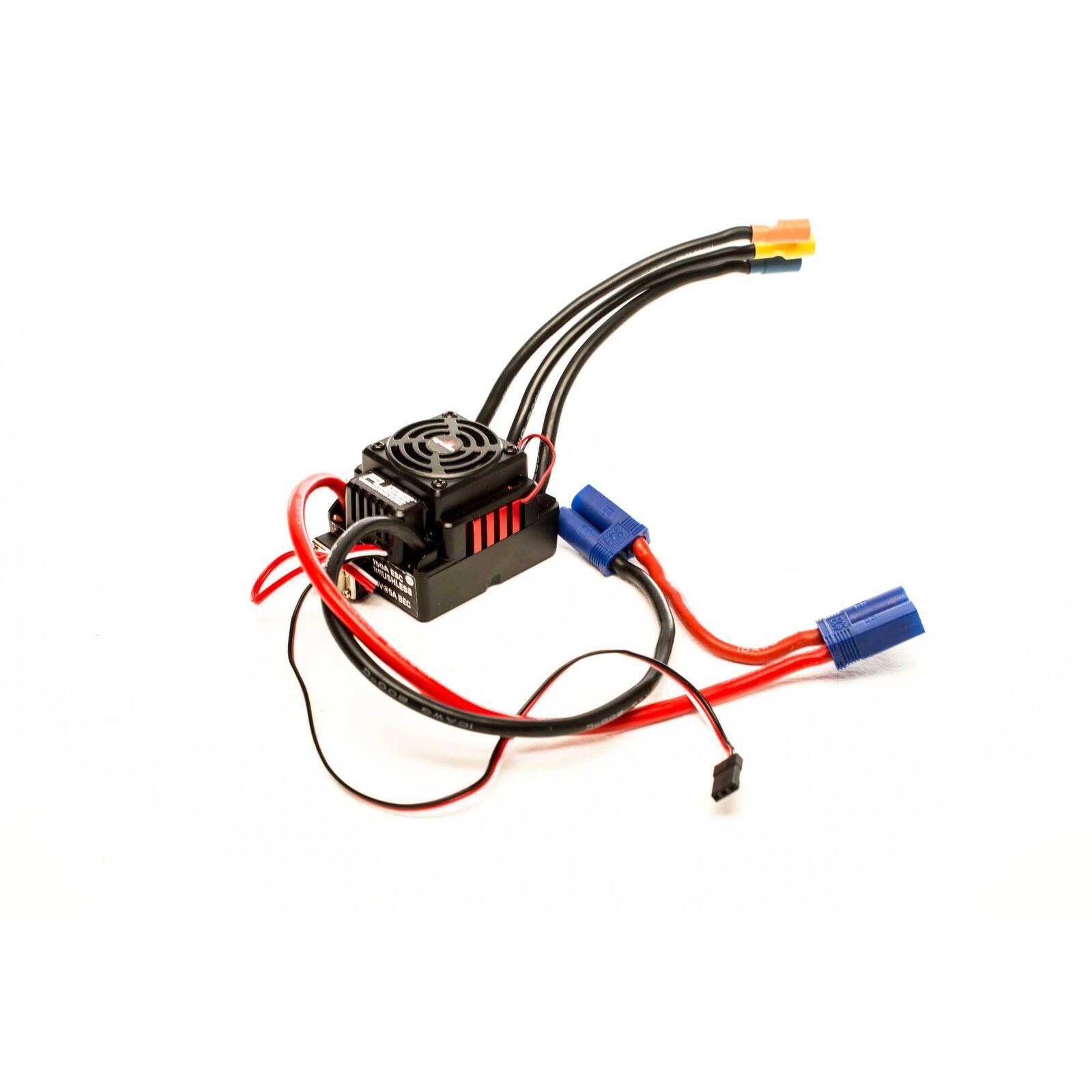 Fuze 150A Sensorless BL WP ESC  3-6S