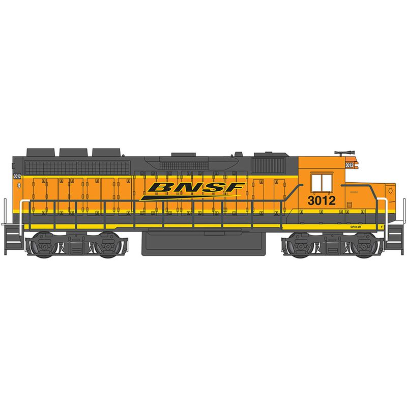 HO GP40 BNSF #3012
