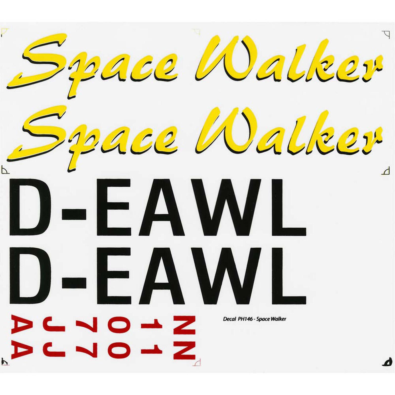 Decal Spacewalker .46-.55 EP ARF