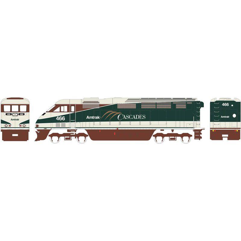 HO RTR F59PHI Amtrak #466