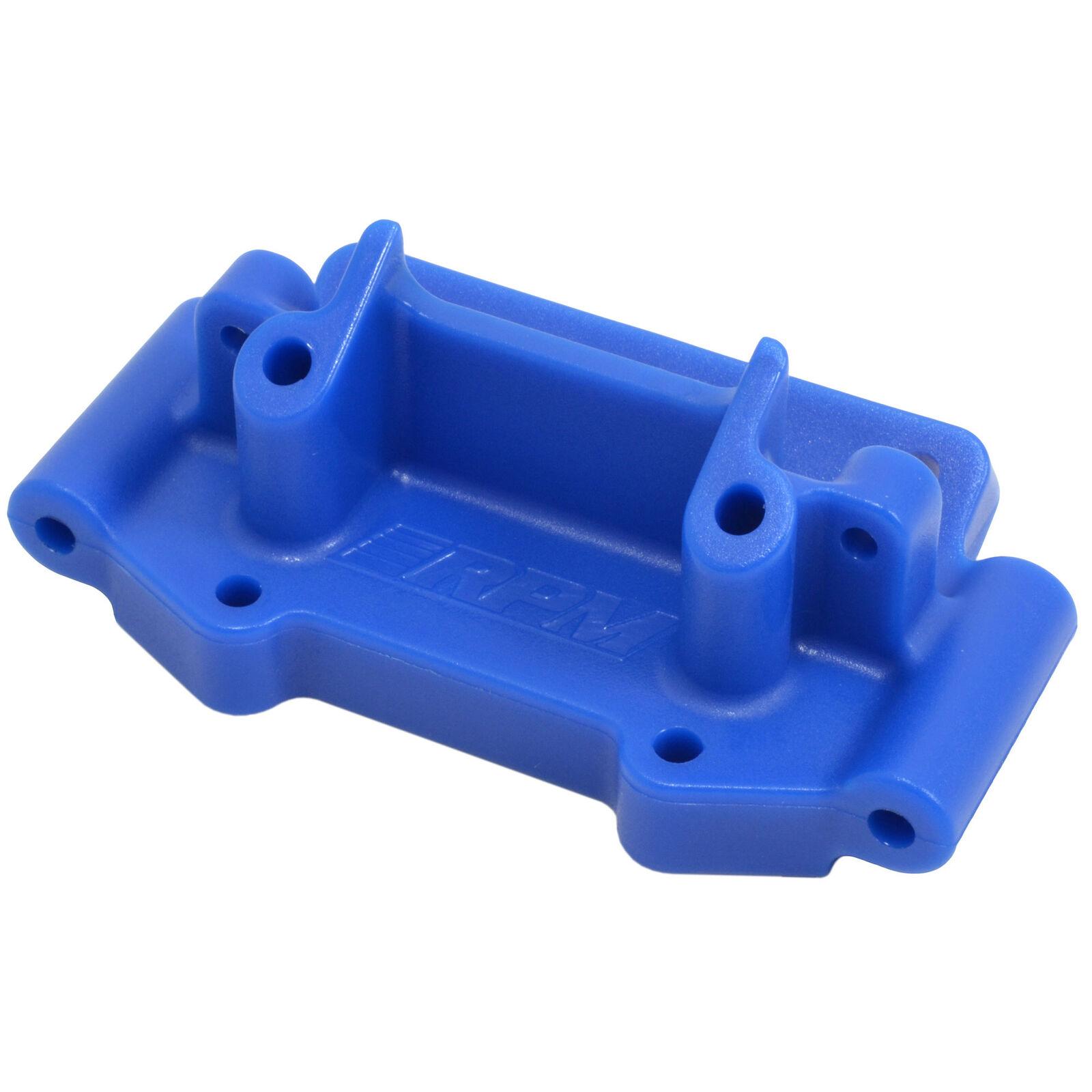 Front Bulkhead, Blue: TRA 2WD Vehicles