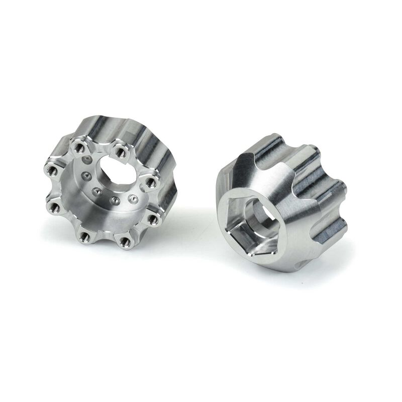 "Aluminum Hex Adapters, 8x32 to 17mm 1/2"" Offset"
