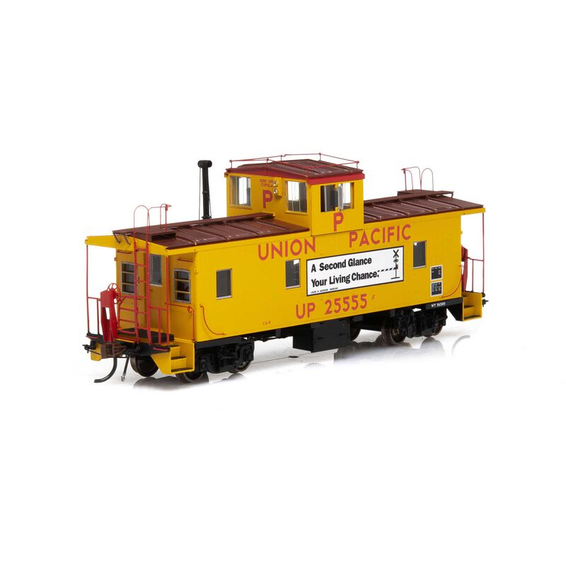 HO ICC Caboose with Lights & Sound UP #25555