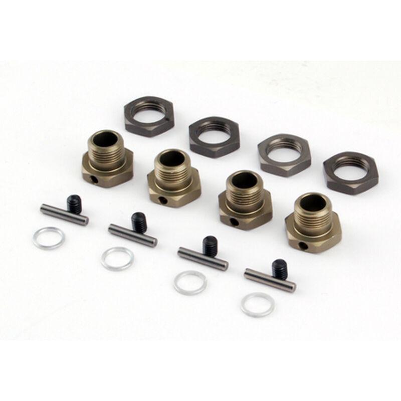 17mm Hex Adapter Set (4): LST2, MUG, AFT, XXL/2