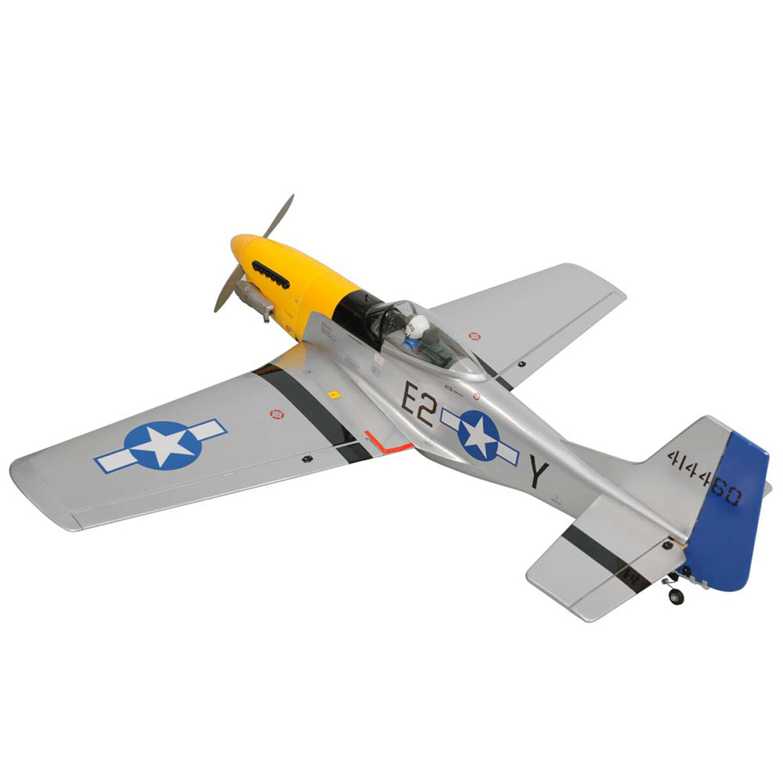 "1/7 P-51 Mustang .46-.55 GP EP ARF 55.5"""