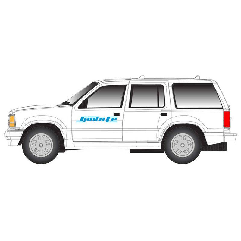 N Ford Explorer Santa Fe, White/Blue