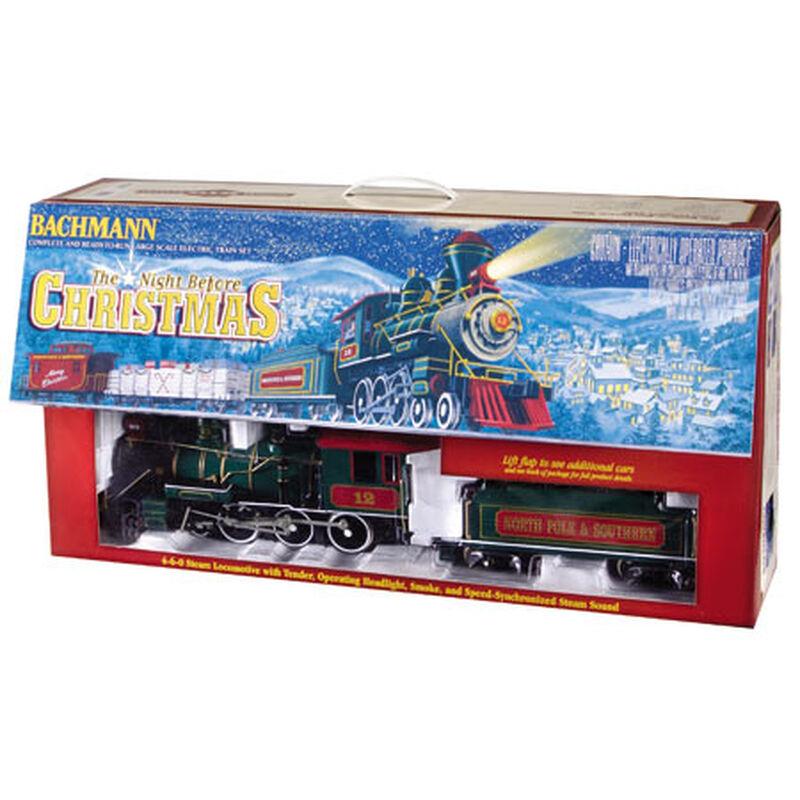 G 4-6-0 Freight Set, Night Before Christmas