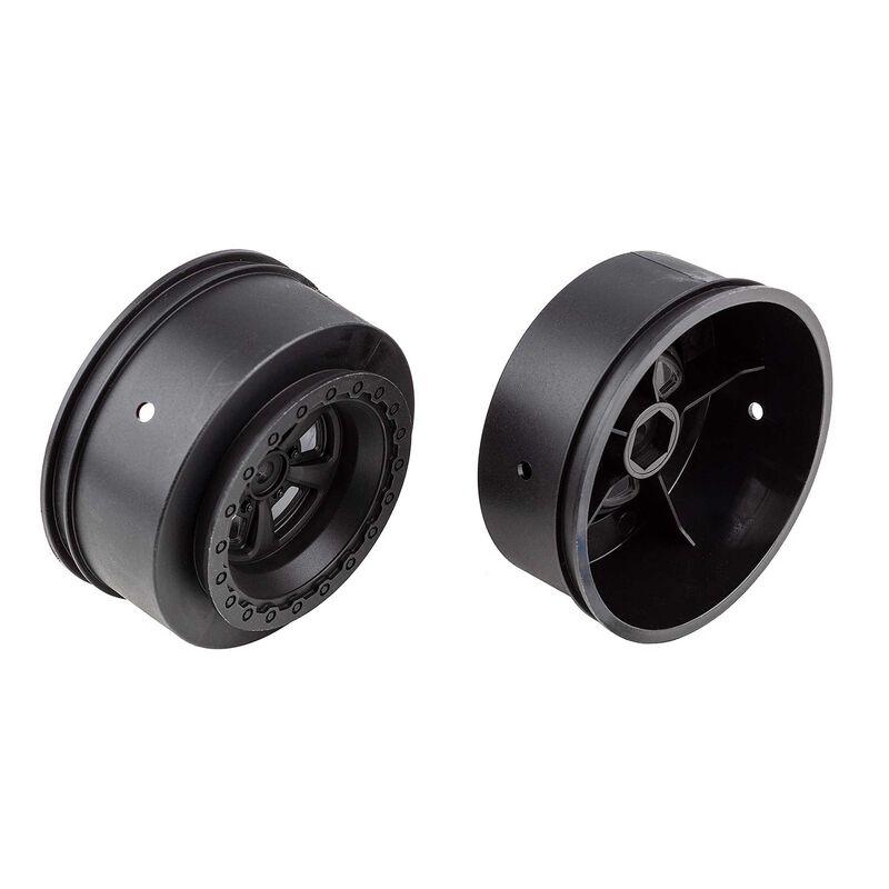 DR10 Drag Rear Wheels black