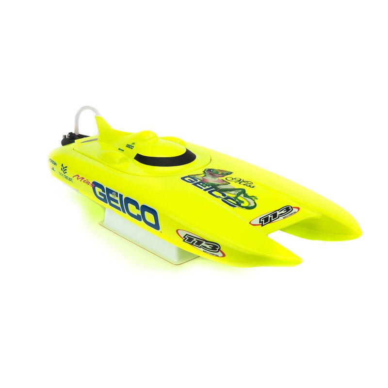"""Miss Geico 17"""" Brushed Catamaran RTR"""