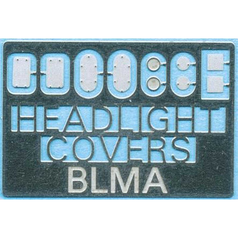 N Removed Locomotive Head Light Covers (5pr)