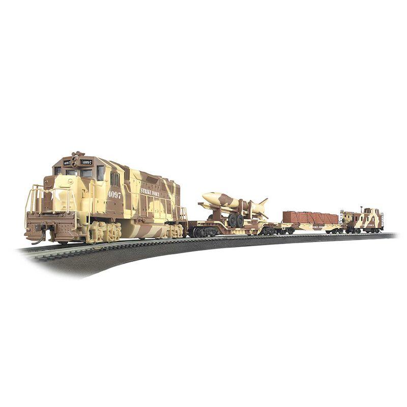 HO Strike Force Train Set