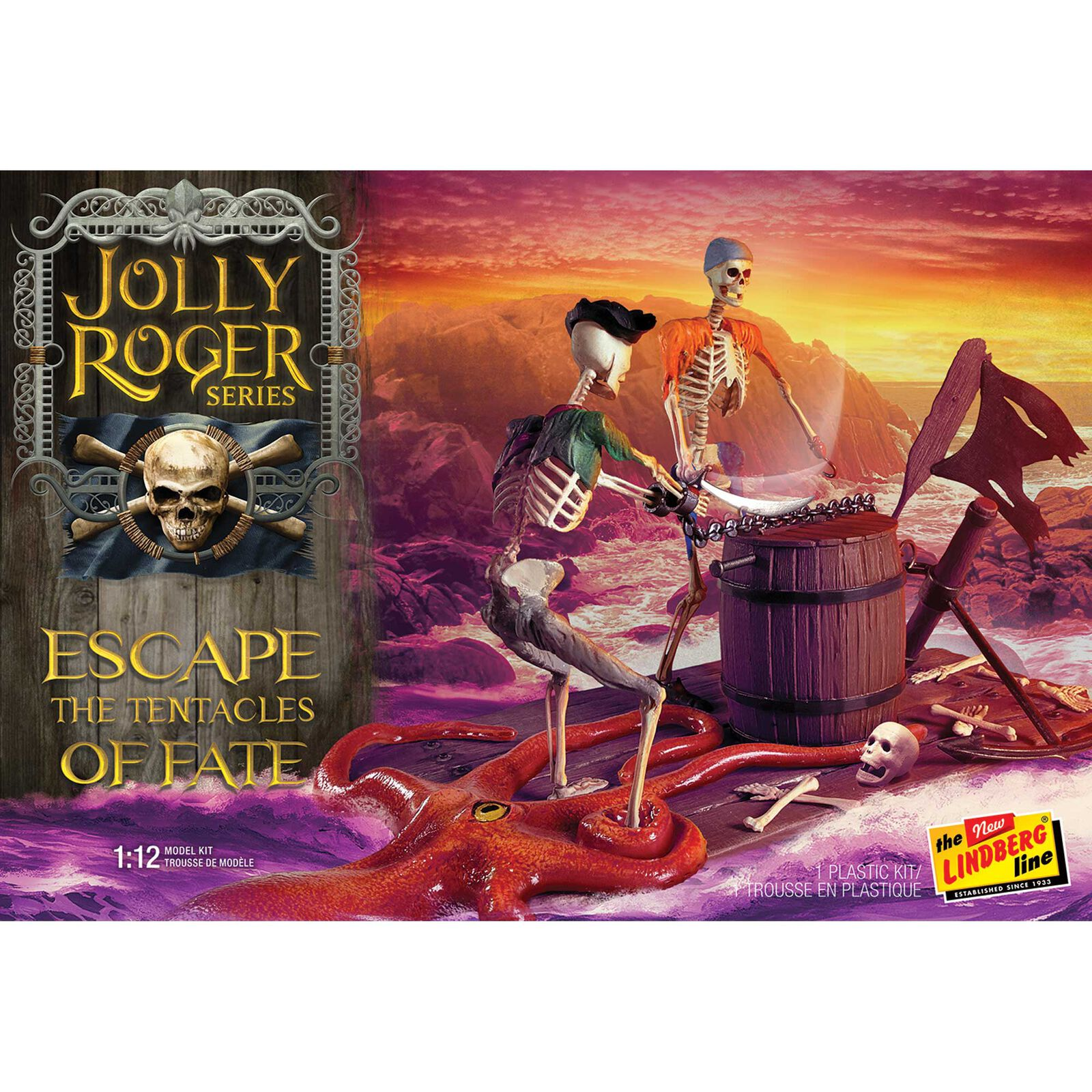 1/12 Jolly Roger, Escape the Tentacles of Fate