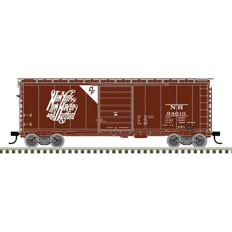 N 40' PS-1 Box Car New Haven Script DF 34010