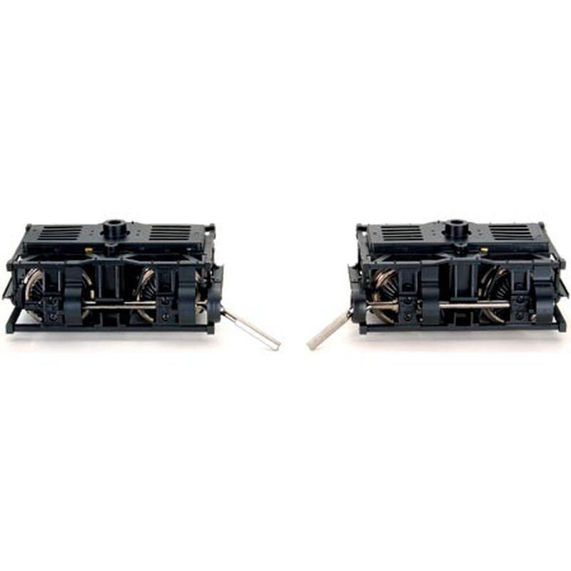 G Die-Cast Shay Power Trucks (1pr)