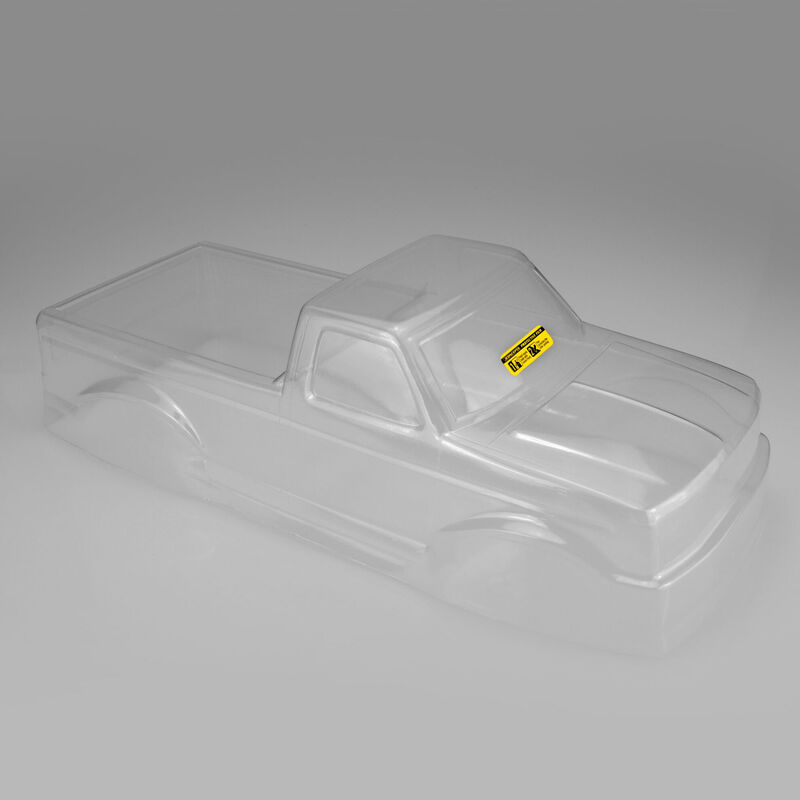 1/10 1993 Ford F-250 Monster Truck Clear Body with Racerback and Visor