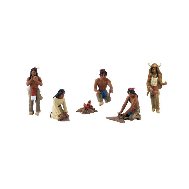 Scene-A-Rama Scene Setters Native Americans