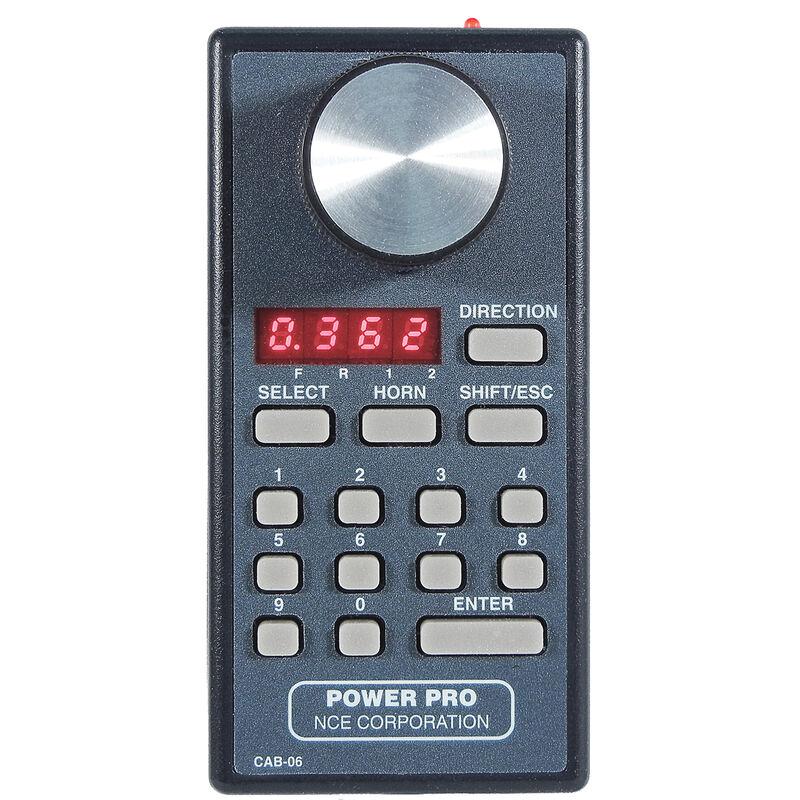 Power Pro Cab/LED Display/Encoder w/Radio, CAB06r