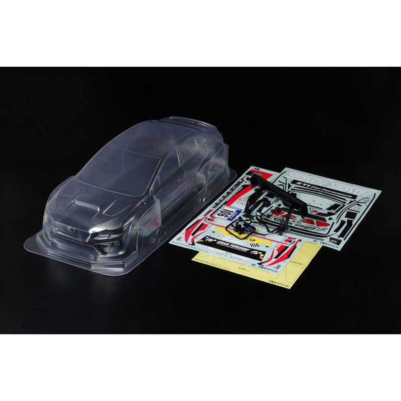 Lightweight Body Parts Set: Subaru WRX STI NBR Challenge