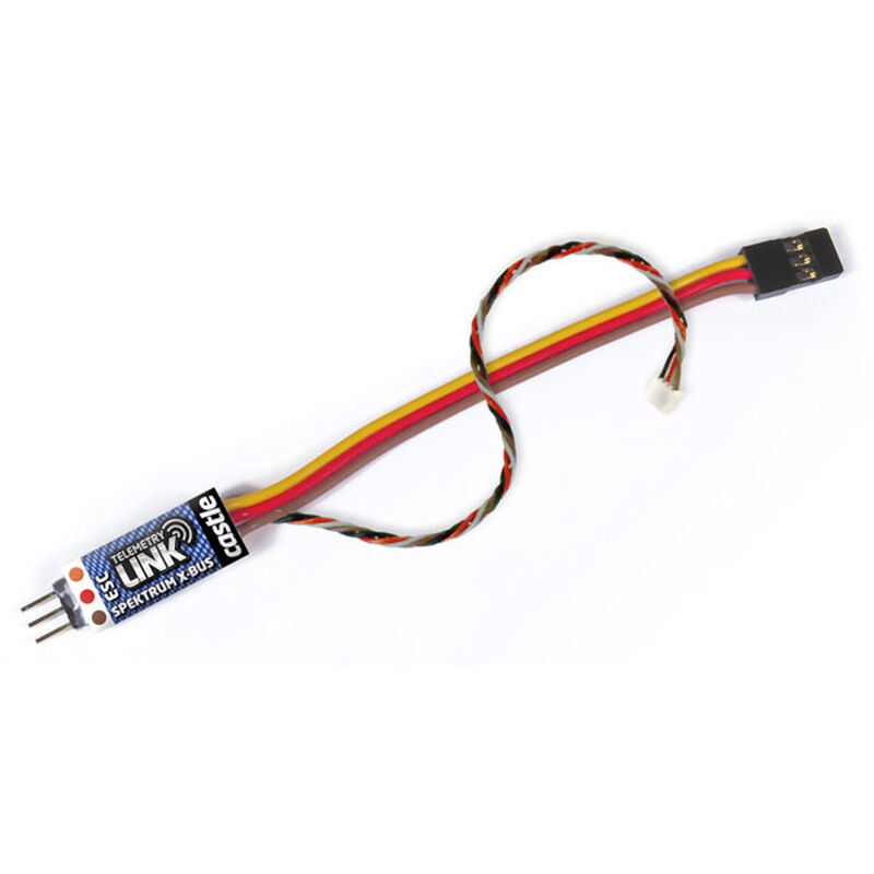 Telemetry Link X-Bus, Spektrum Compatible