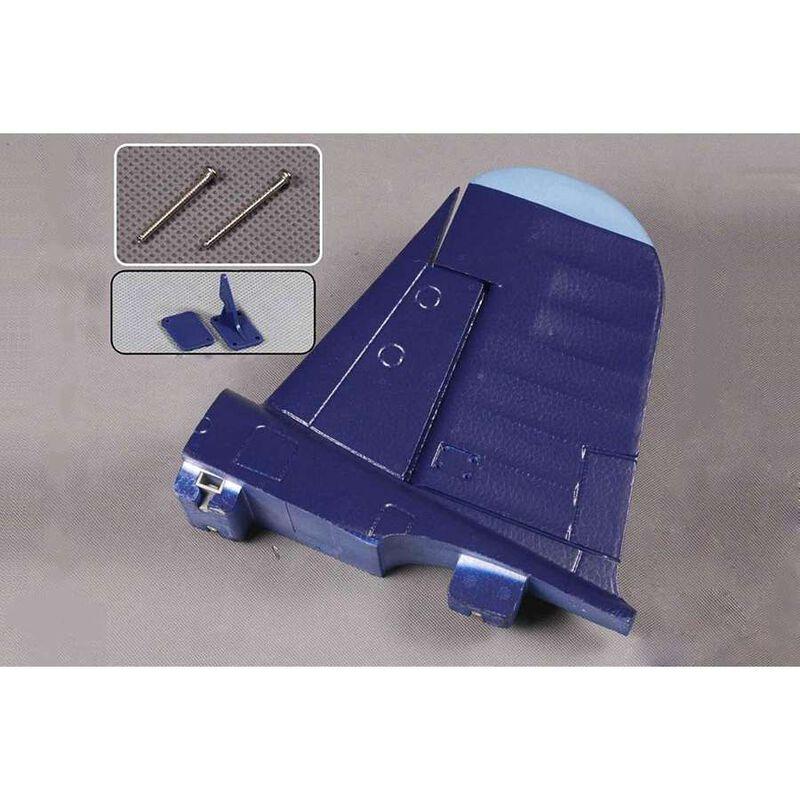 Vertical Stabilizer Blue  F4U 1700mm