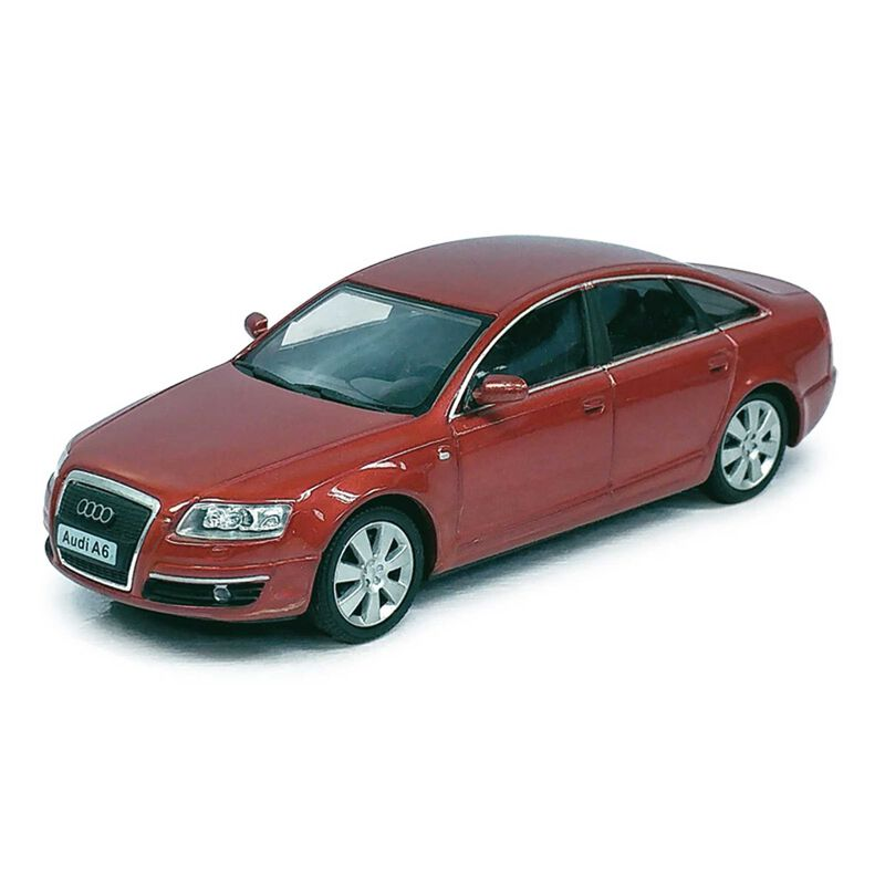Scale 1/43  AUDI A6 in burgundy