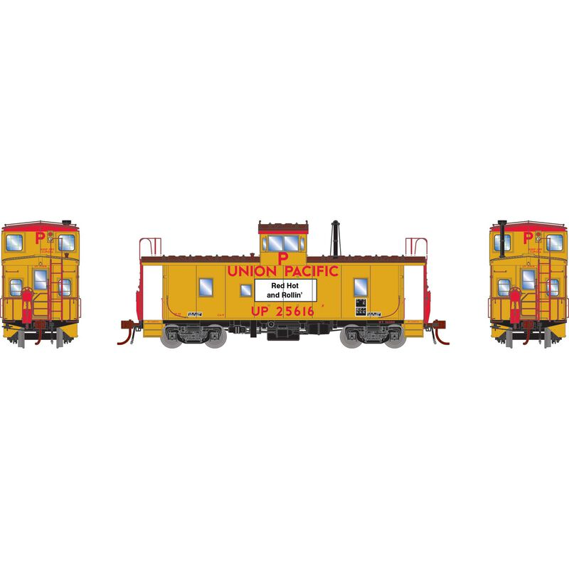 HO CA-9 ICC Caboose with Lights UP #25616