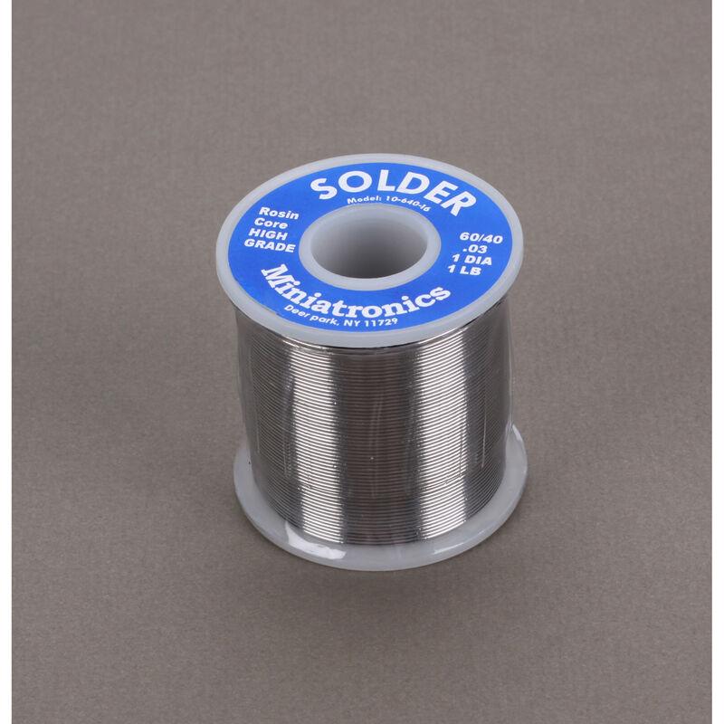 Rosin Core Solder 60/40, 1 lb