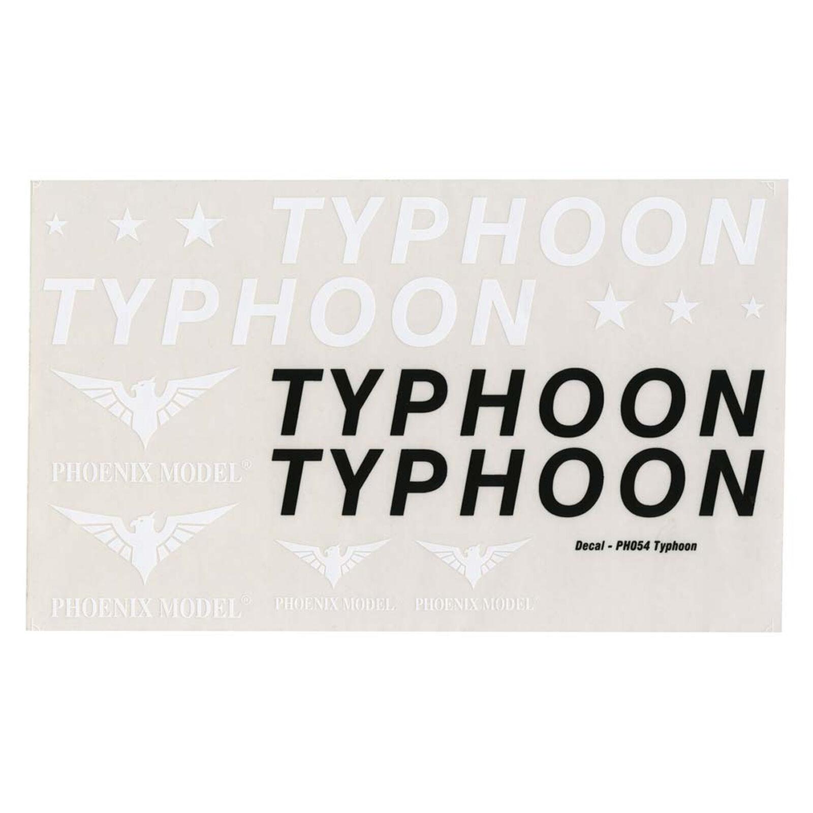 Decals Typhoon .46-.55 EP ARF