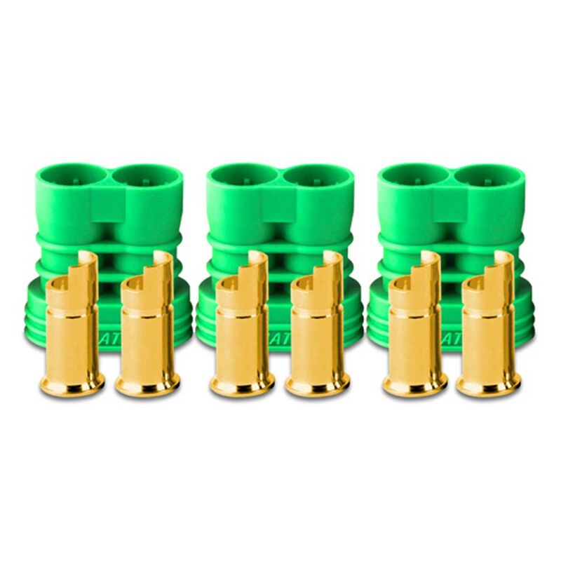 Connector: 6.5mm Polarized Bullet Battery (3)