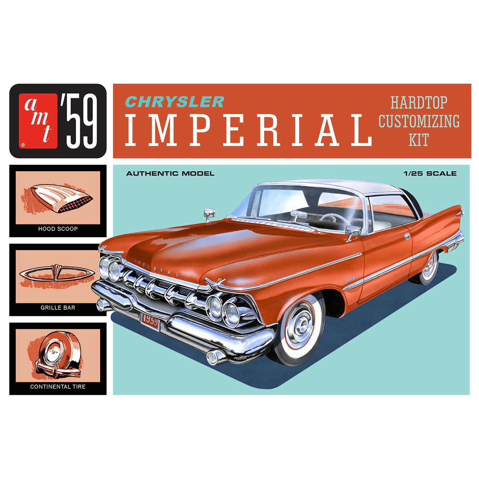 1/25 1959 Chrysler Imperial, Model Kit