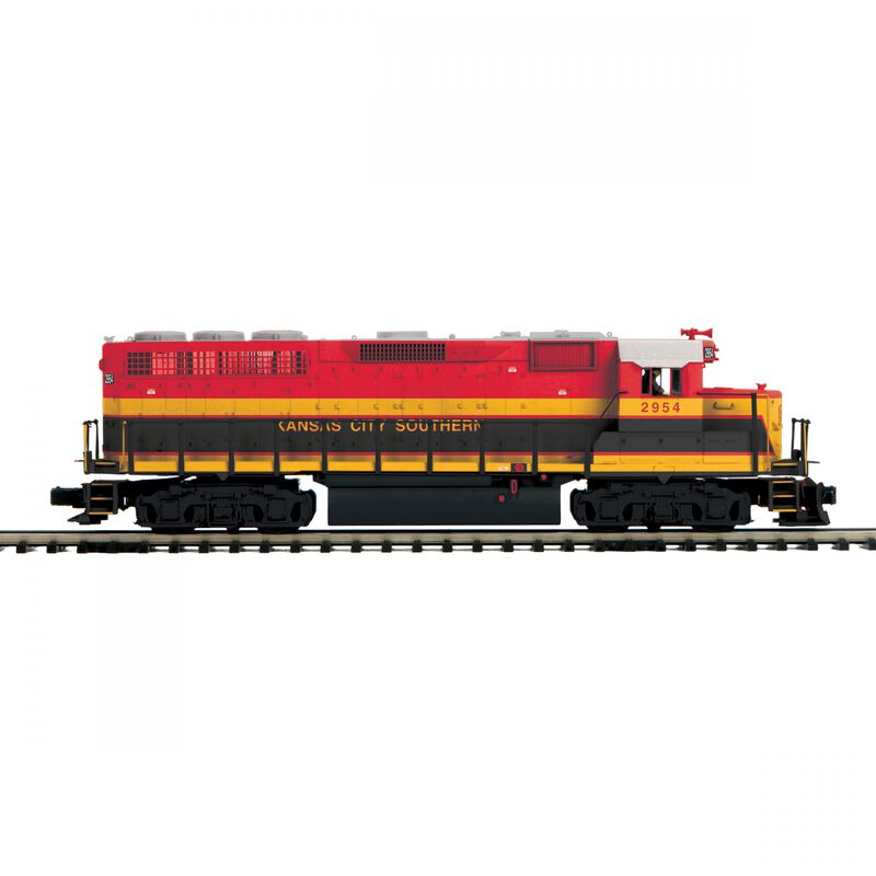 O GP-40 with PS3 & Scale Wheels KCS #2954