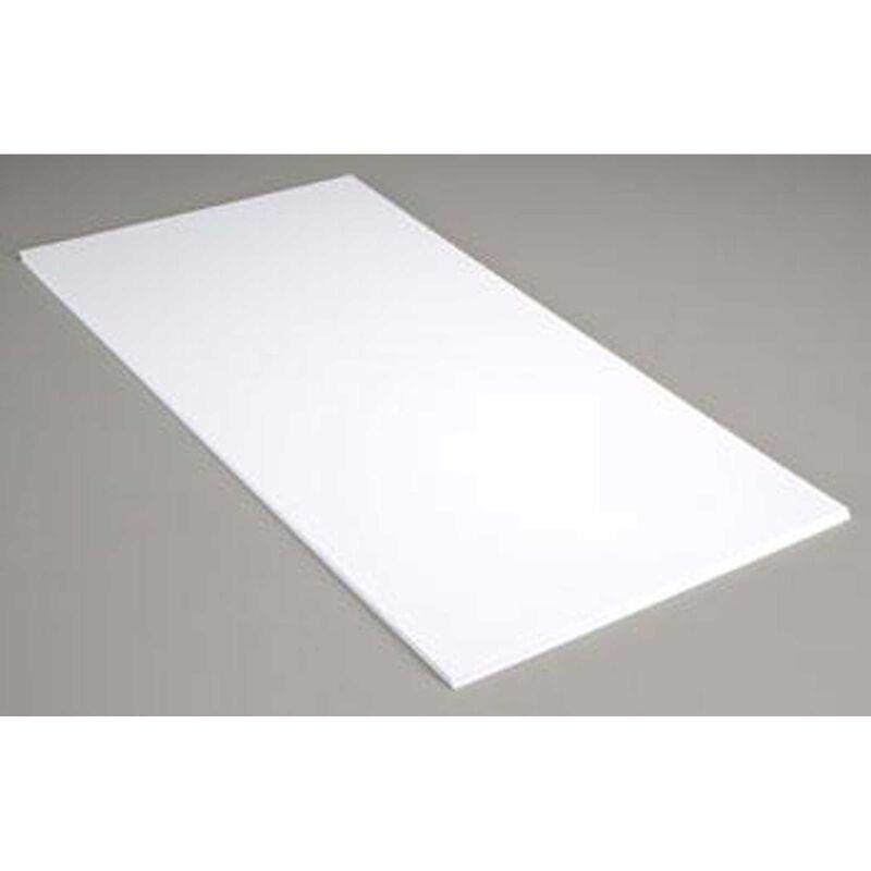 White Sheet .010 12 X 24 (15)
