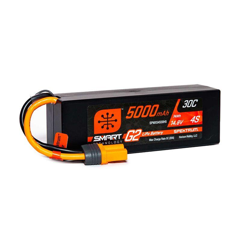 14.8V 5000mAh 4S 30C Smart G2 Hardcase LiPo Battery: IC5