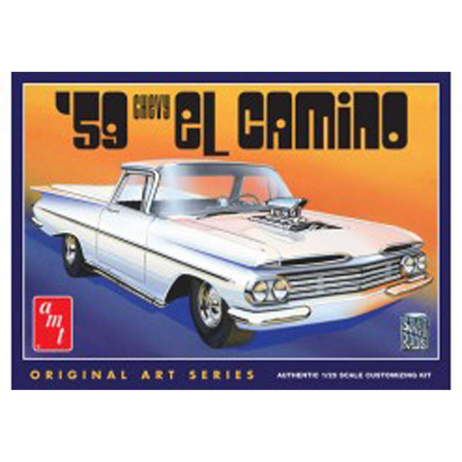 1959 Chevy El Camino Original Art Series