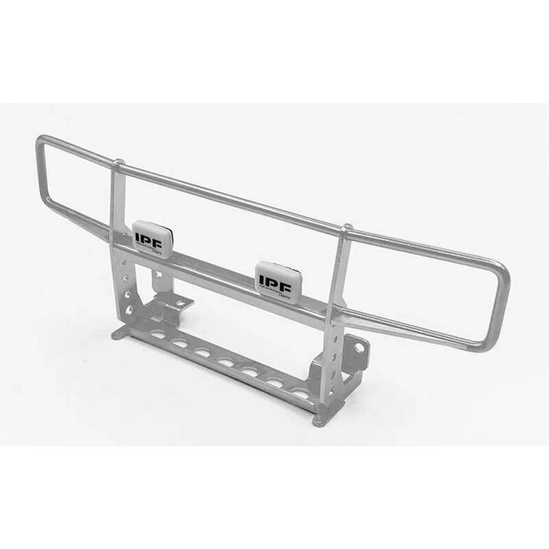 Ranch Front Grille with Light, Silver: TRX-4, 79 Bronco Ranger XLT