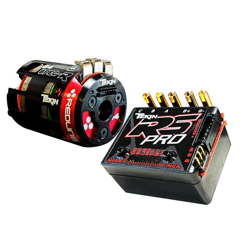 RS Pro BE  ESC/21.5T Gen4 SpecR Brushless Motor System