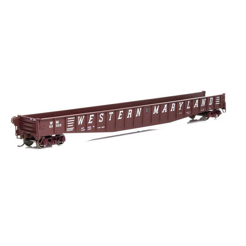 "HO RTR 65' 6"" Mill Gondola WM #53023"