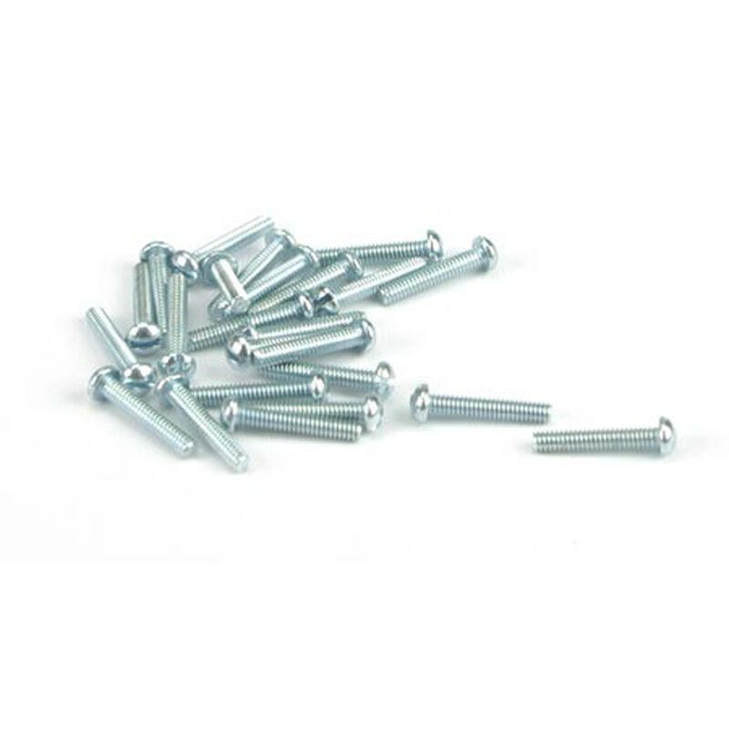 "Round Head Screw, 2-56 x 1/2"" (24)"