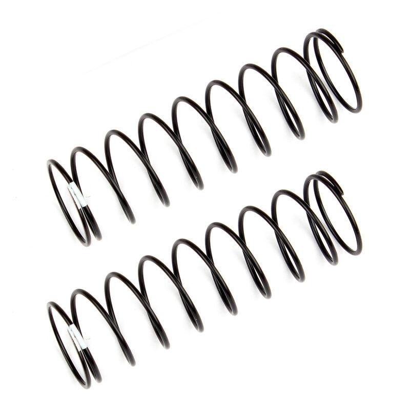 Rear Shock Springs, White, 1.90 lb/in, L61mm