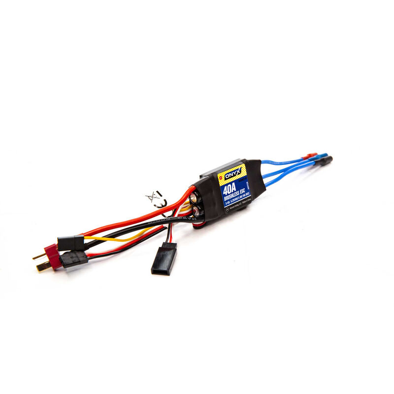 40A 2-6S Programmable Brushless Air ESC
