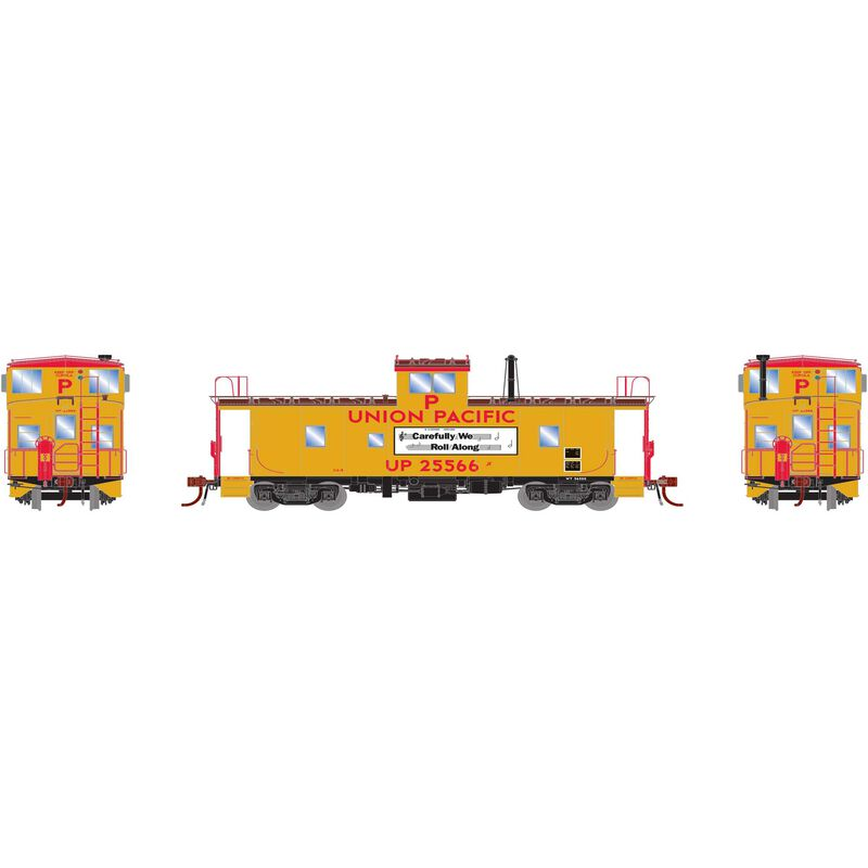 HO ICC Caboose with Lights & Sound UP #25592