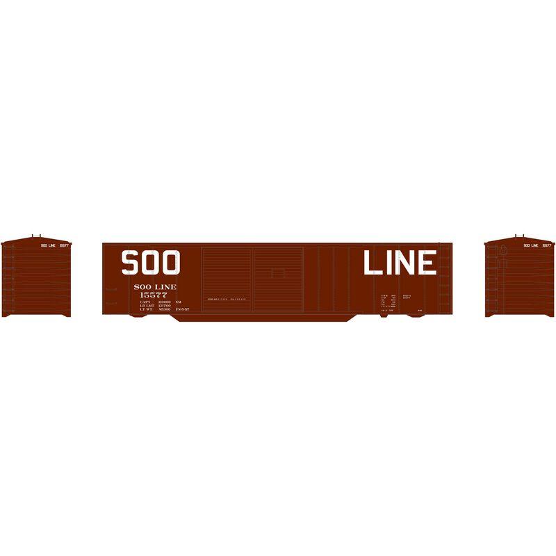 50' Double Sliding Door Box SOO #15577