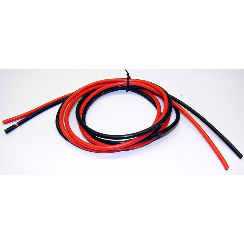 Superflex 14 Wire 3Ft Red and Black